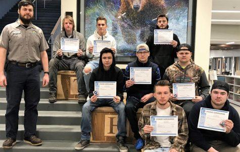 ASE Certified Students at Tahoma