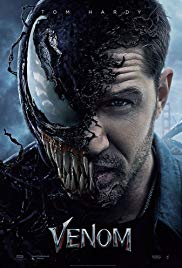 Sony's Venom starring Tom Hardy is in theaters now.