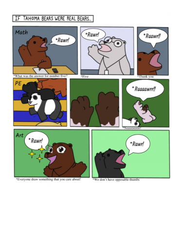 Tahoma Bears Comic
