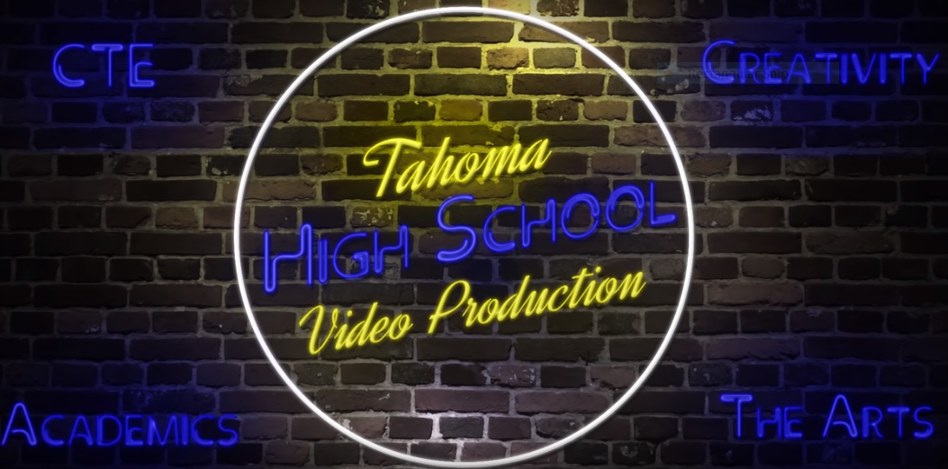 The Tahoma High School video production logo, shown after each YouTube video.