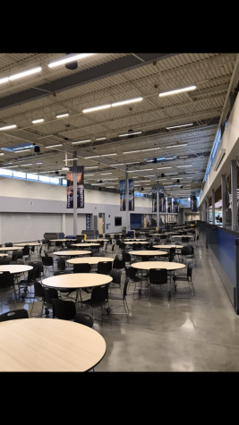 The Commons at Tahoma High School. This place is usually filled with hundreds of teens. Picture by Jackson Kottman