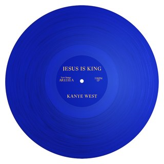 Jesus Is King album cover (For fair use only)