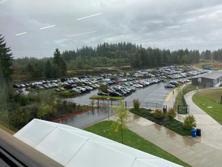 Tahoma+Student+Parking+Lot